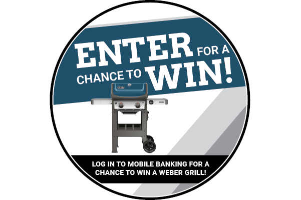 Enter to Win a Weber Grill