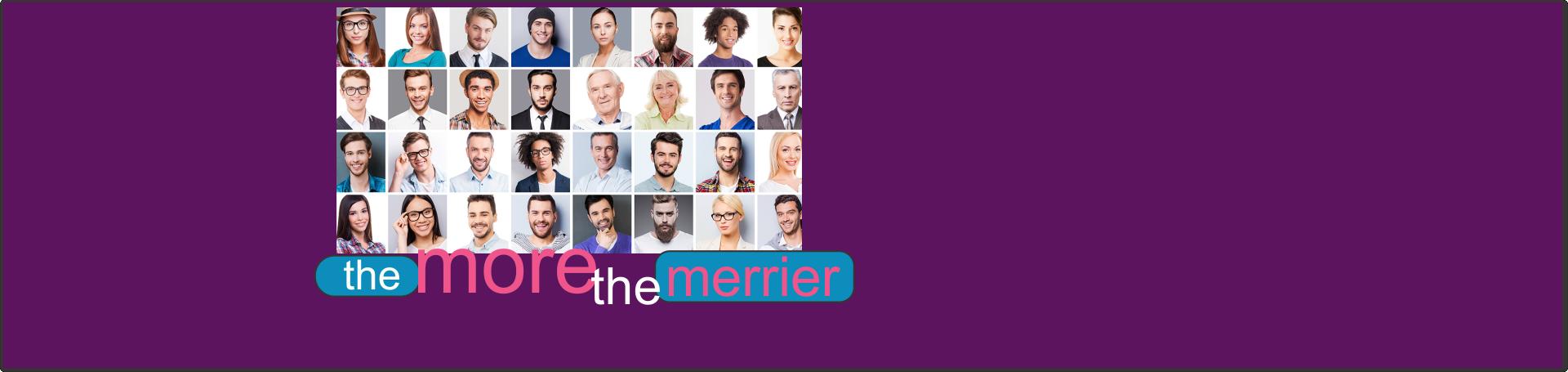 Membership, the more the merrier