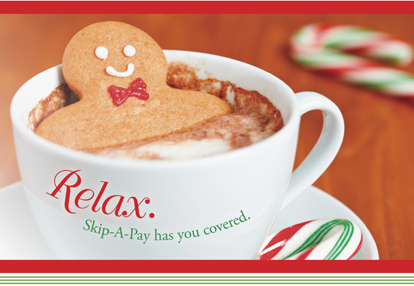 Relax with Skip A Pay