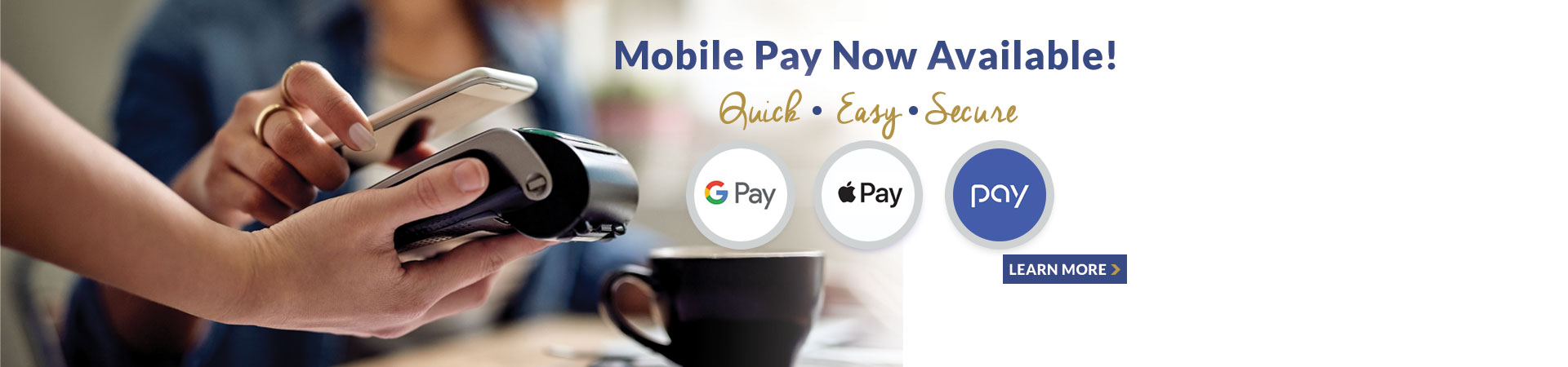 Mobile Pay is now available