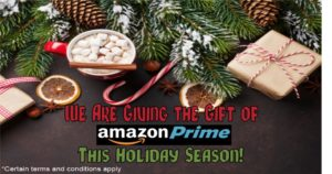 Amazon Prime Membership Credit Card Promo