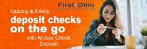 Quick and easily deposit checks on the go with Mobile Check Deposit